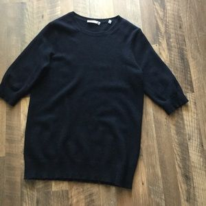 Vince 3/4 sleeve cashmere sweater